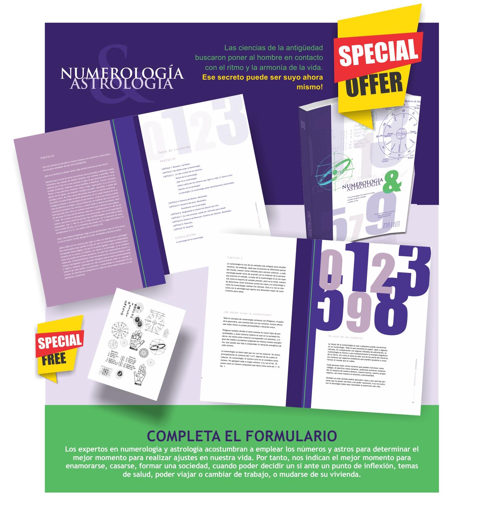 Libro Numerología & Astrología